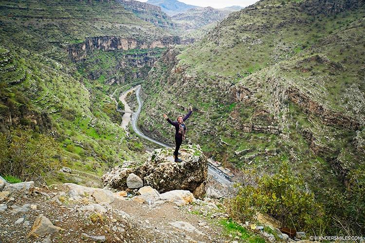 Canyon in the Rawanduz region of Iraqi Kurdistan
