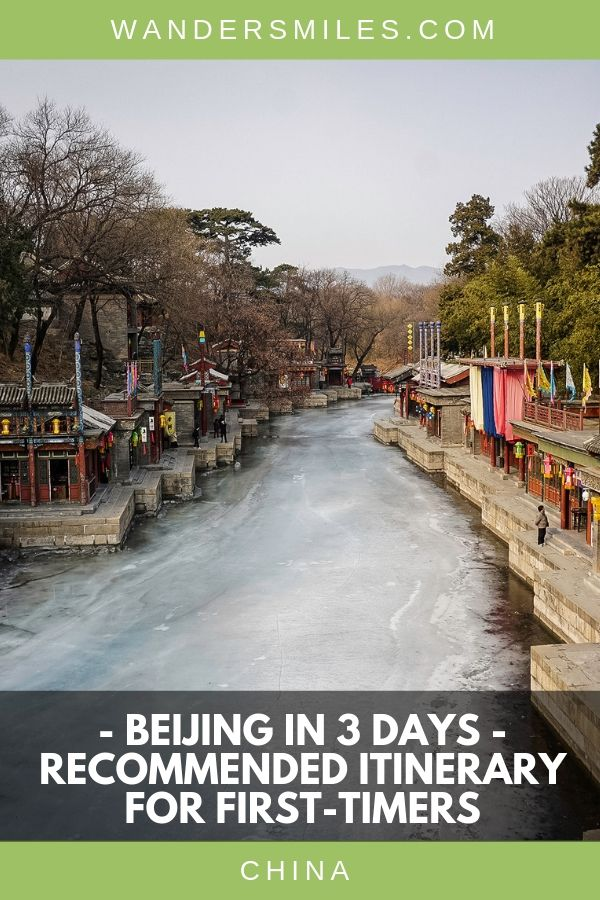 This Beijing 3 day itinerary is perfect for first-timers to see one of the greatest ancient capital cities of the world