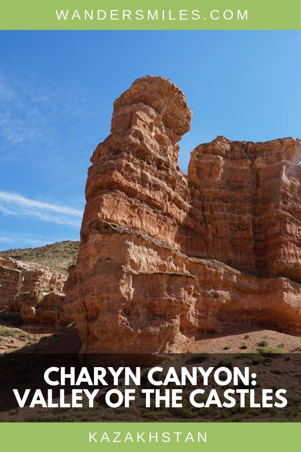 Visit Charyn Canyon also known as Valley of the Castles in Kazakhstan, Central Asia #CentralAsia #Kazakhstan