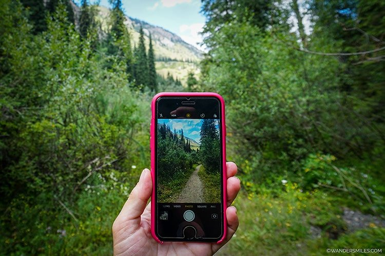 Smartphone photography on your holidays