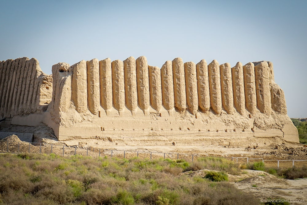 Great Kyz Kala in the lost city of Merv, Turkmenistan