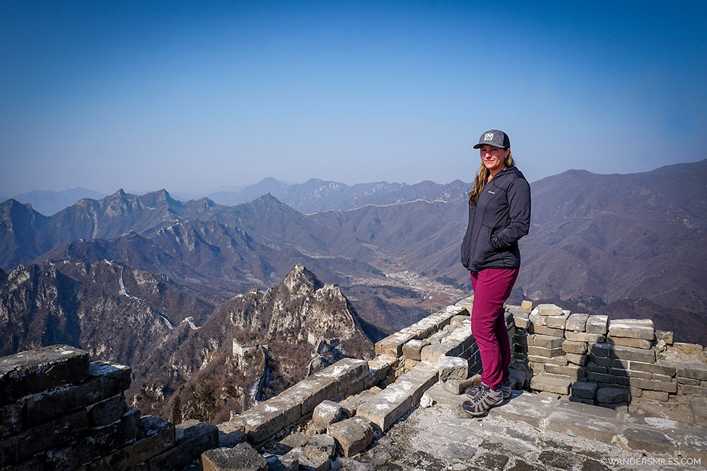 Jiankou to Mutianyu Wid Wall of China - Female Solo Travel in Beijing