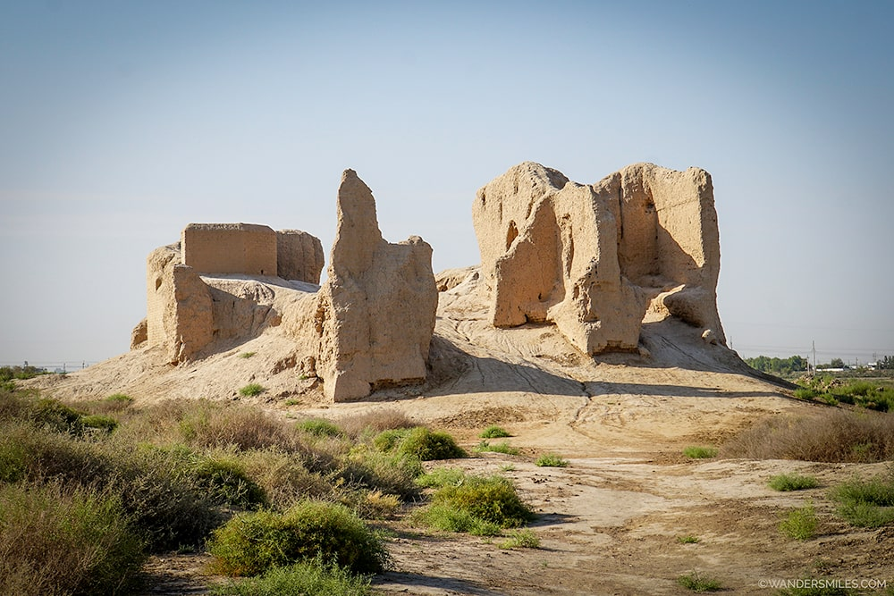 Little Kyz Kala in the lost city of Merv, Turkmenistan