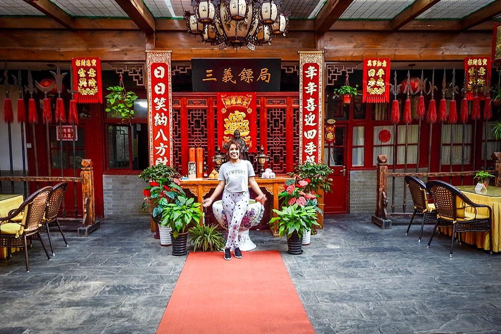 Qianmen Courtyard Hotel in Beijing