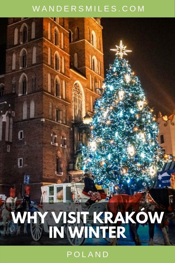 So many reasons to visit Krakow in December. Feel festive, get cultural and enjoy the delicious Polish dishes. #VisitKrakow