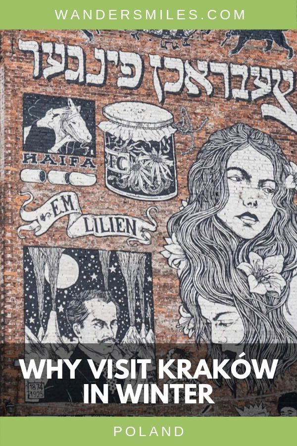 Visit Krakow in winter is still a fab time to go. Get arty, cultural, historical and, most of all, festive! #visitkrakow #poland