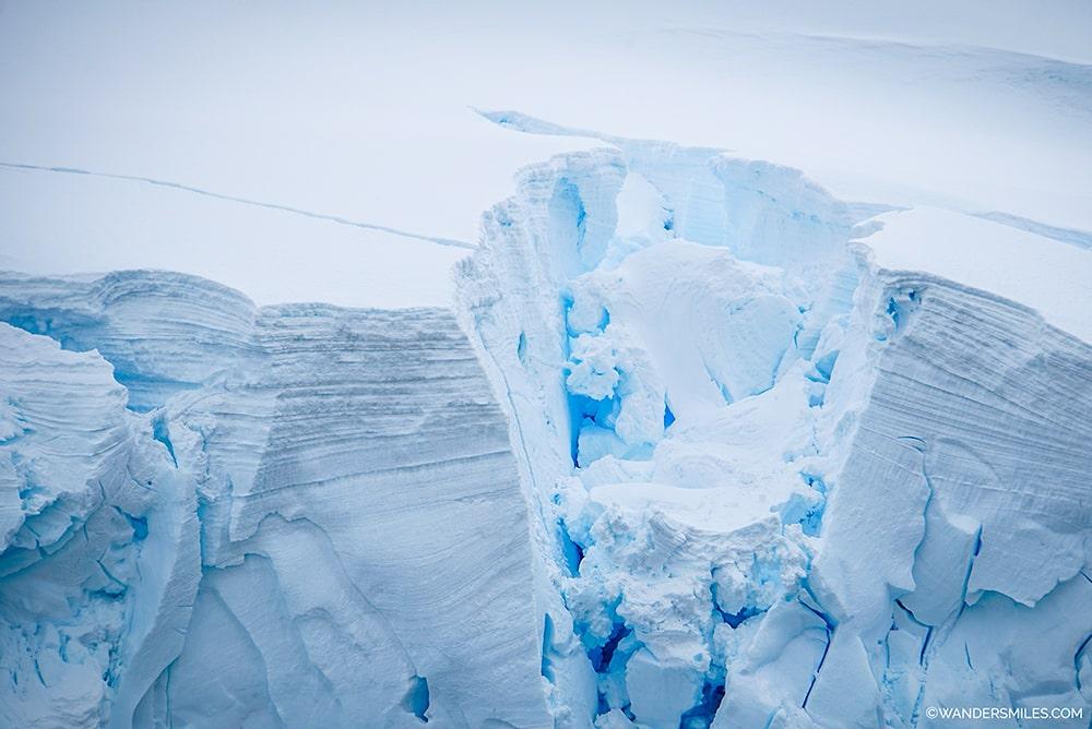Glaciers in Orne Harbour