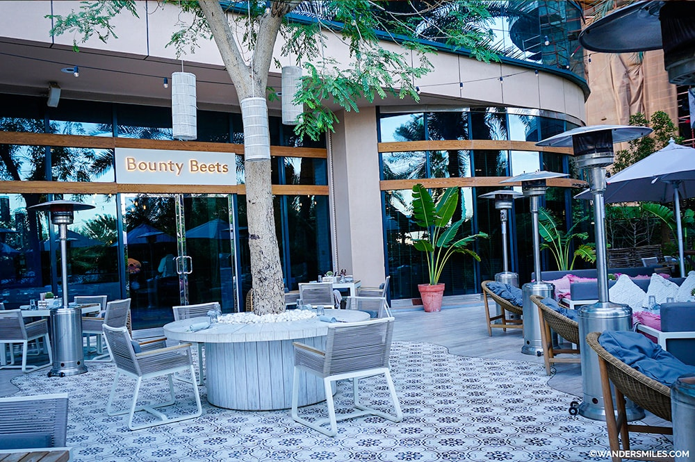Bounty Beets Terrace - Le-Meridien Mina Seyahi-Dubai