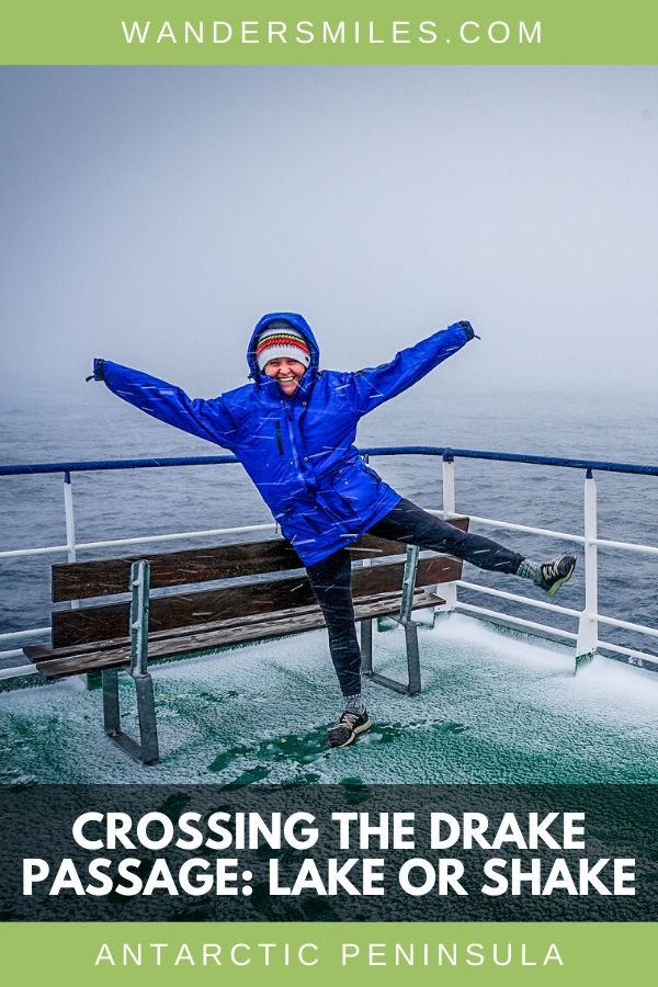Crossing the convergence of the Drake Passage to Antarctica