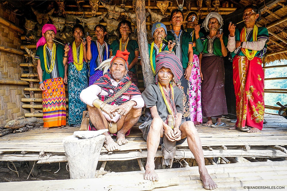 |Muun Tribe in a remote village in Nat Ma Taung National Park