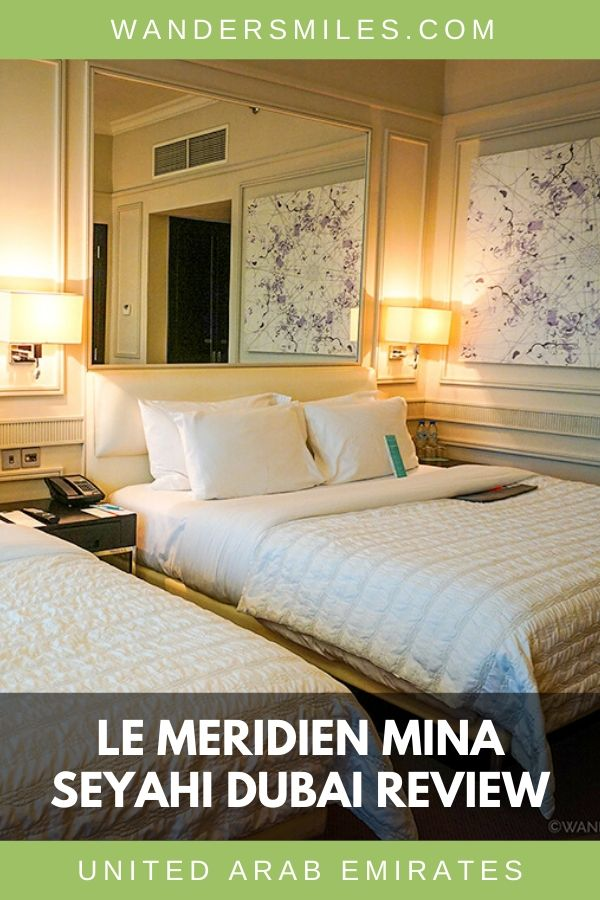Review of Le Meridien Mina Seyahi Beach Resort & Marina with beautiful, cosy bedrooms – Dubai, United Arab Emirates