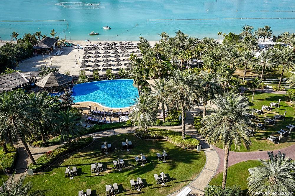 Le Meriedien Mina Seyahi Dubai Gardens - Wanders Miles