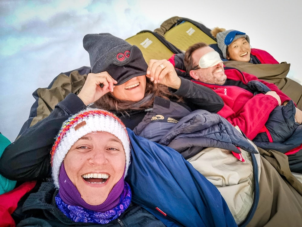 Fun times extreme camping at Damoy Point in Antarctica - Wanders Miles