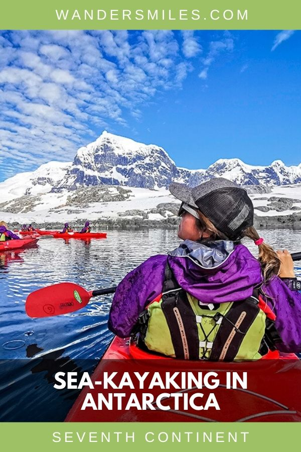 Guide to kayaking in Antarctica amongst the glaciers and swimming penguins