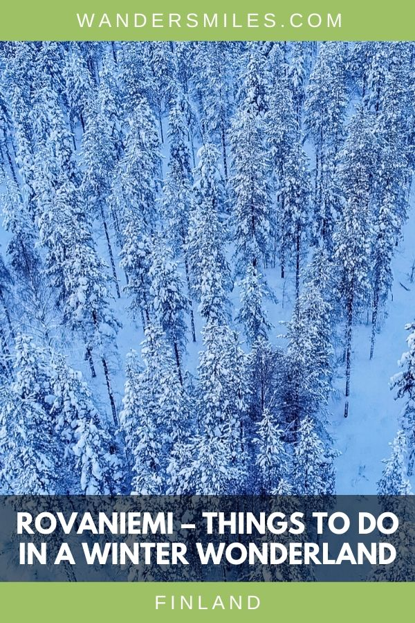 Rovaniemi is winter wonderland with so many fun activities from husky sledding, snowmobiling and more. Blog by Wanders Miles. #wandersmiles #finland #visitrovaniemi
