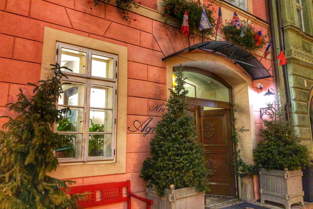 Exterior of Residence Agnes Prague
