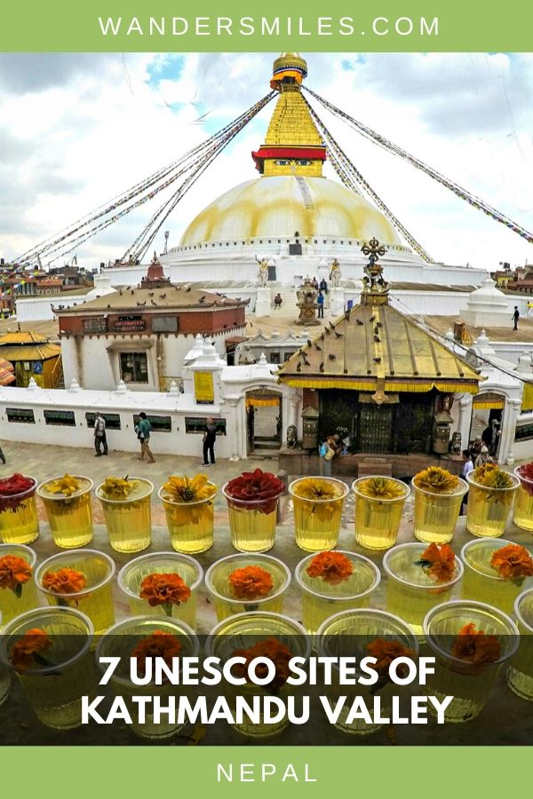 Visit Boudhanath Temple, one of the 7 UNESCO sites in Kathmandu Valley