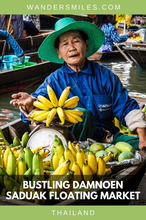 Visit the bustling Damnoen Floating Market in Thailand has fabulous scenes of vendors for photographers