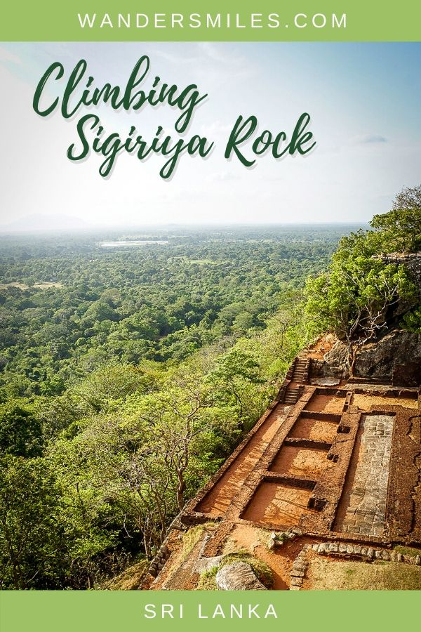 How to visit the ancient ruins on Sigiriya Rock in Sri Lanka – all you need to know