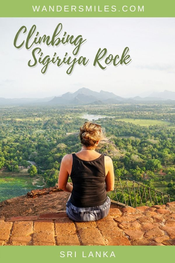Guide to climbing Sigiriya Rock to enjoy the views from the top