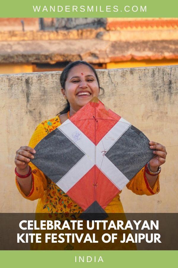Hindus of Jaipur celebrate Uttarayan Kite Festival