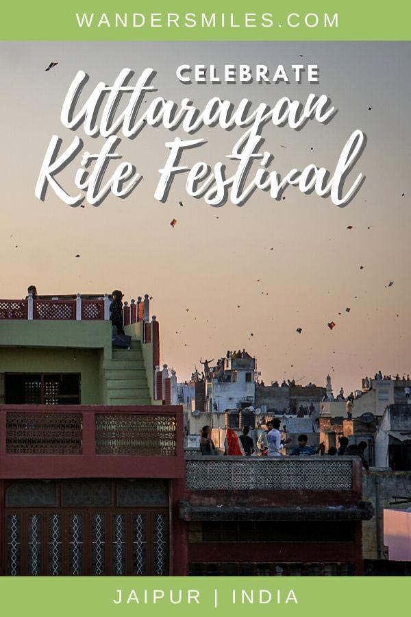 How to celebrate Uttarayan at sunset, the Kite Festival of Jaipur