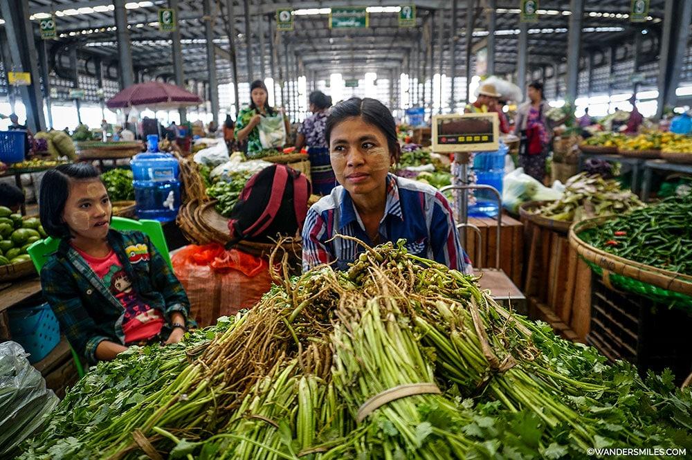 Danyingone Market Yangon