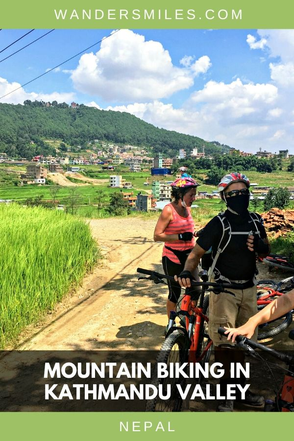 Enjoy the landscape of Kathmandu Valley by mountain biking through the paddy fields