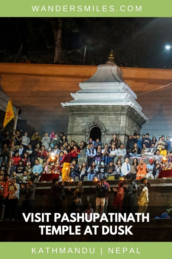 Experience the Aarti Ceremony at Pashupatinath Temple, a must-see in Kathmandu