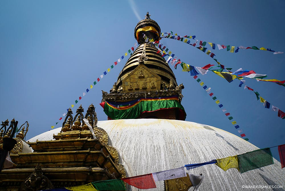 Swayambunath Monkey Temple in Kathmandu Valley