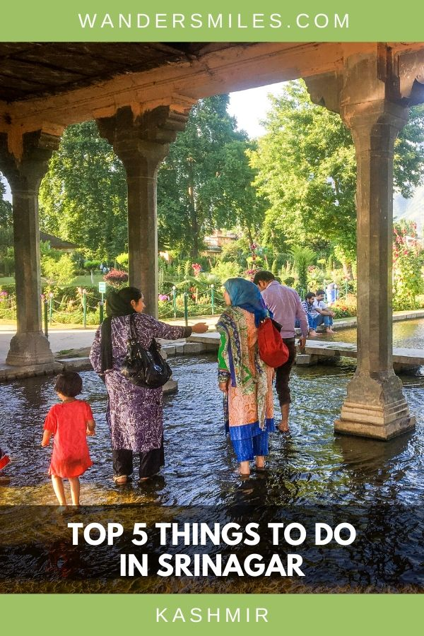 Play in the fountains at Shalimar Bagh Gardens in Srinagar, a top thing to do in Srinagar