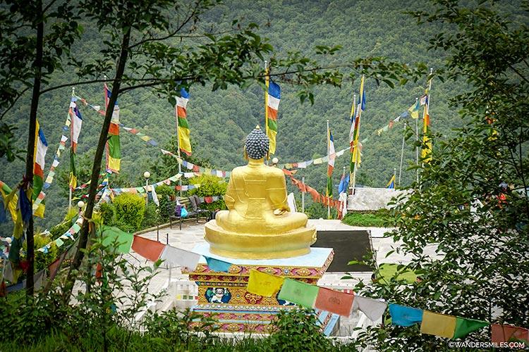 Buddha Peace Park on the Nagarkot trek in Kathmandu Valley