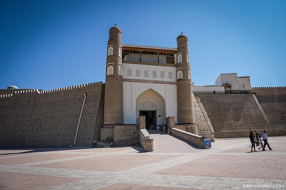 The Ark Citadel is the most ancient monument in Bukhara