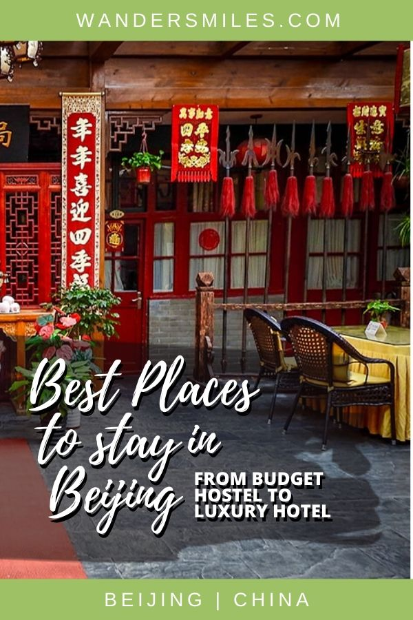 Guide with the best places to stay in Beijing to suit all budgets