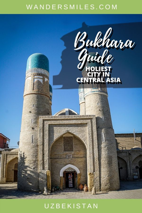 Guide to exploring Bukhara, the holiest city in Central Asia.