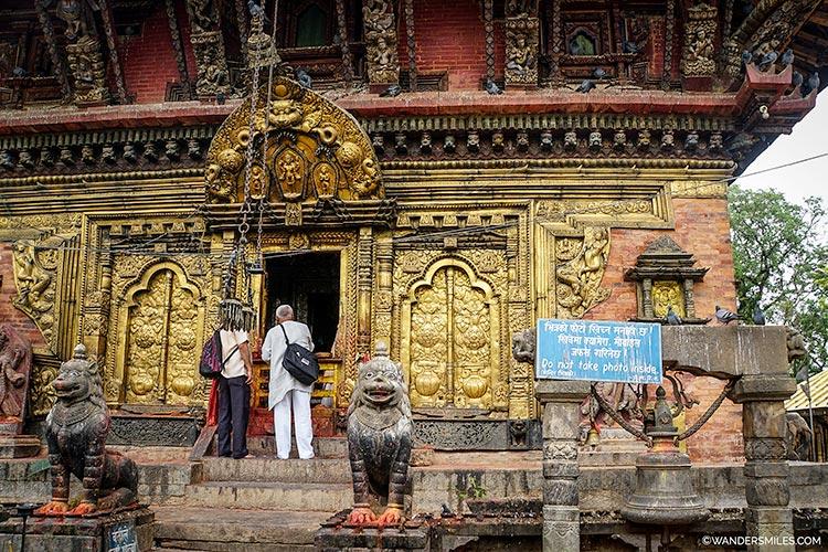 Changu Narayan Temple in Kathmandu Valley in Nepal