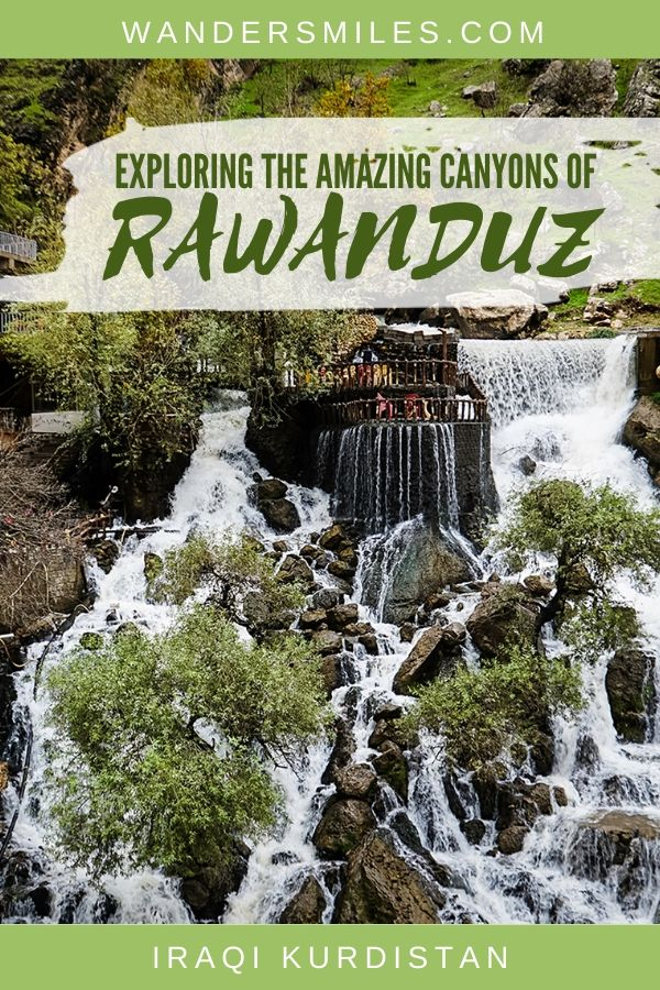 How to explore the beautiful canyons of Rawanduz, Kurdistan