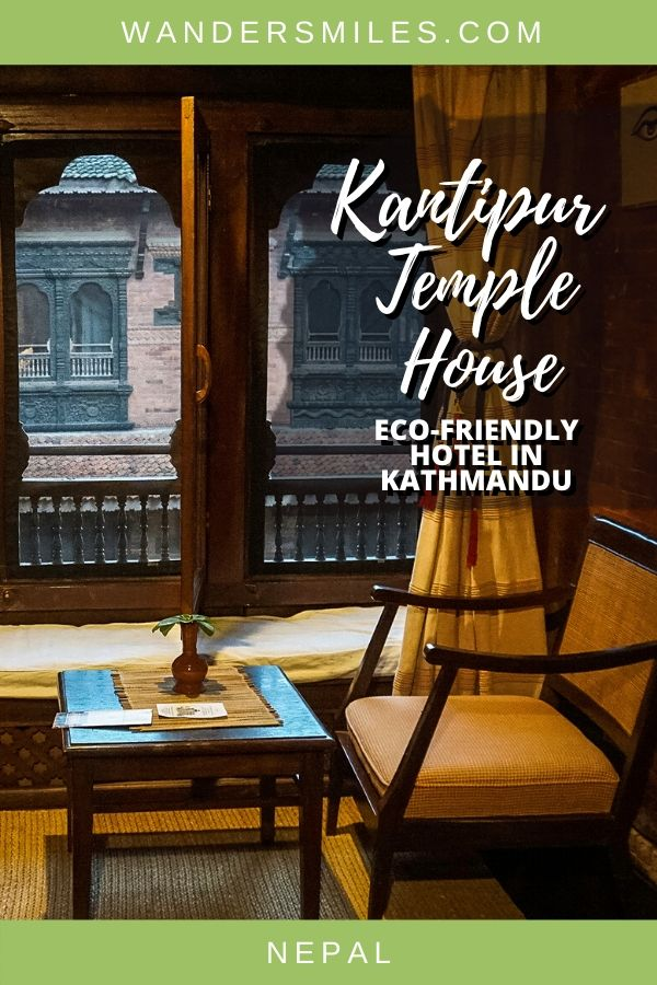 Hotel review of Kantipur Temple House, an eco-friendly hotel in Kathmandu, Nepal