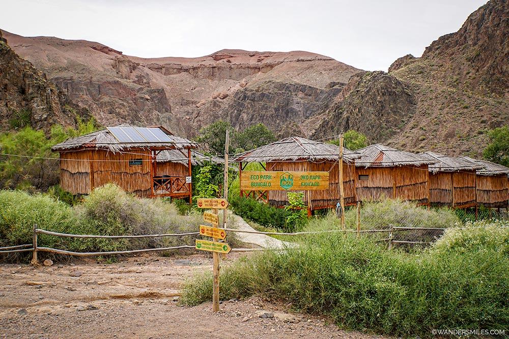 Eco-lodges at Charyn Canyon Kazakhstan