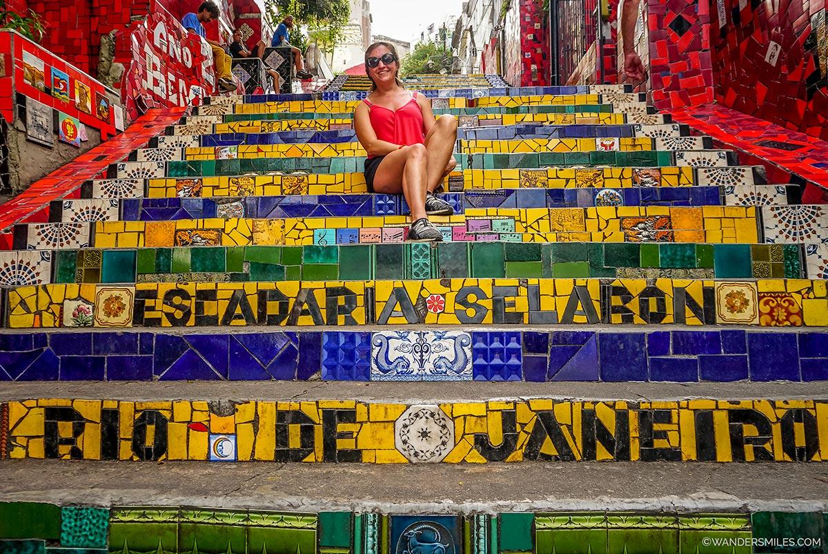 Escadaria Selaron - Lapa steps Rio de Janeiro