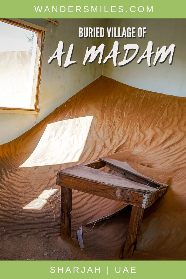 Explore the ghost town of Al Madam buried in the desert of Sharjah
