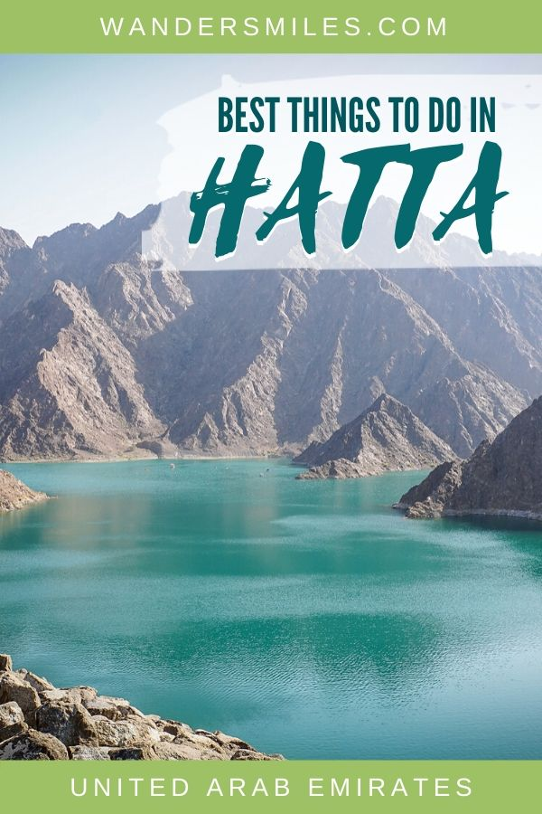 Guide to the 5 top things to do in Hatta in the UAE