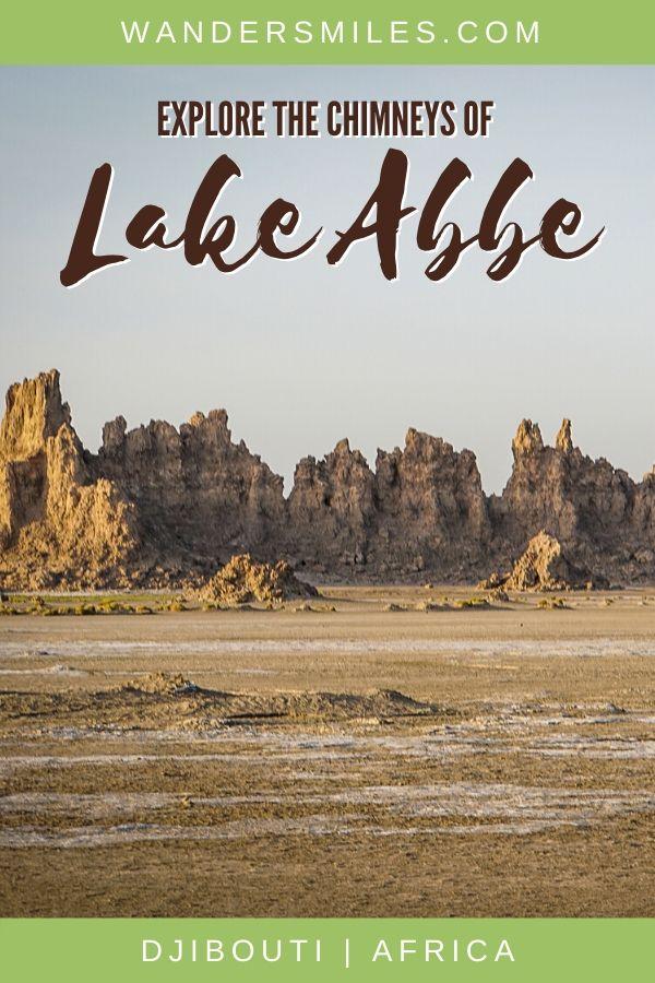 Guide to exploring natural chimneys and saline Lake Abbe in Djibouti