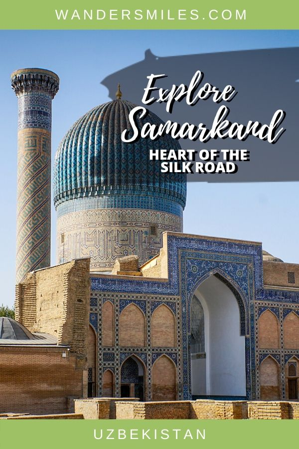 Discover Samarkand, the heart of the silk road, is an ancient city full of stunning architecture and fascinating history