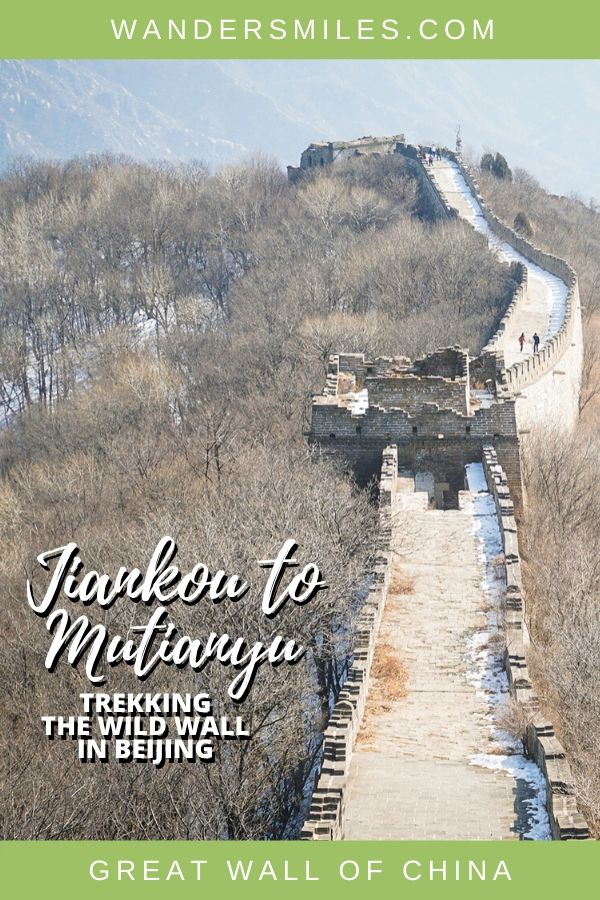 Tips on the Jiankou to Mutianyu Wild Wall hike, one of the most famous and challenging Great Wall treks