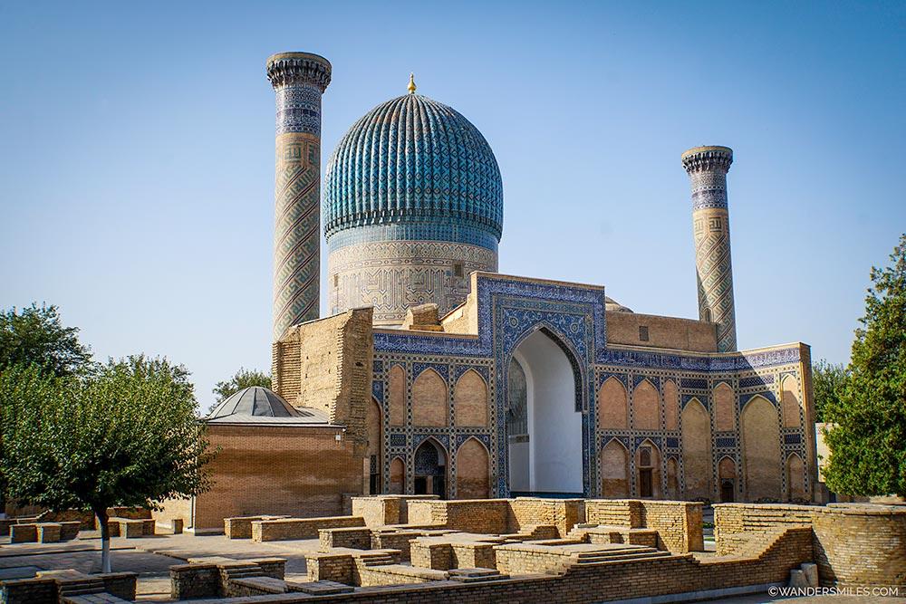 Gur-e-Amir Mausoleum in Samarkand