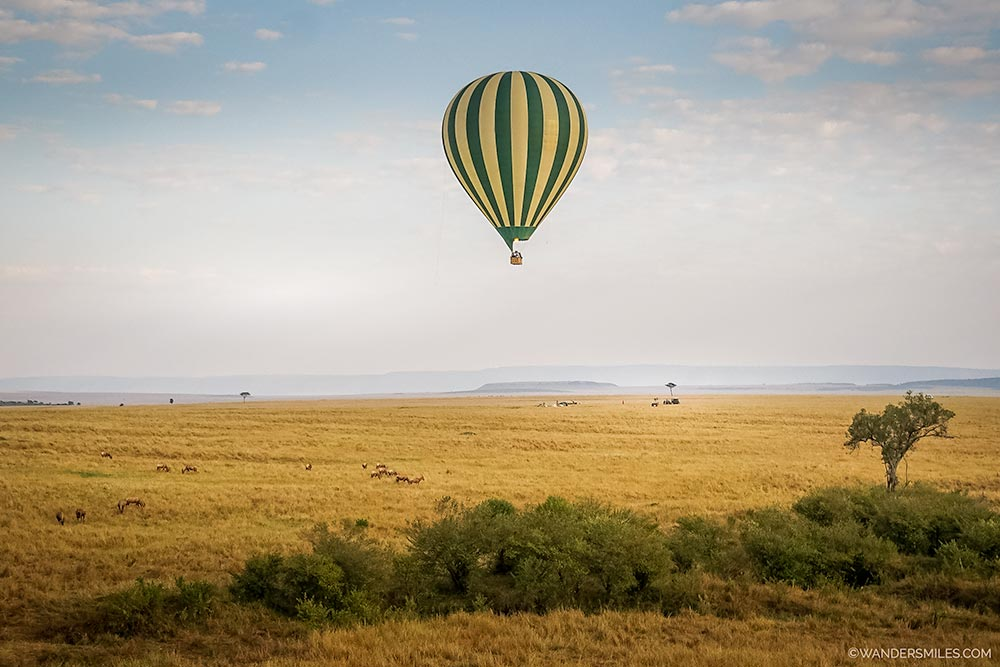 Epic hot air balloon ride over the Maasai Mara - one of the best adventures in Kenya