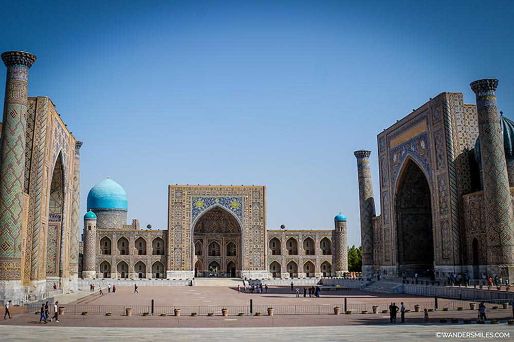 Madrasahs of Registan Square-Samarkand-UZBEKISTAN