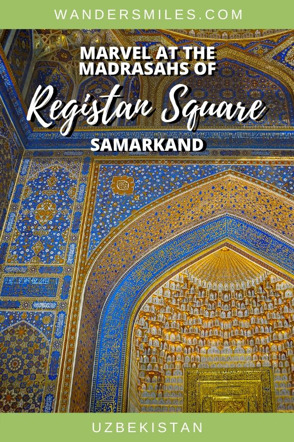Guide to seeing Ulugh Beg Madrasah in Registan Square, Samarkand