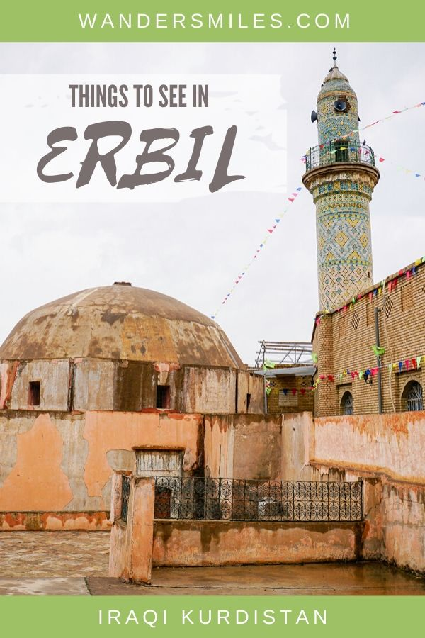 Guide to the best things to see in Erbil, Kurdistan